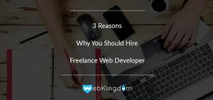 Freelance web developer - Cover