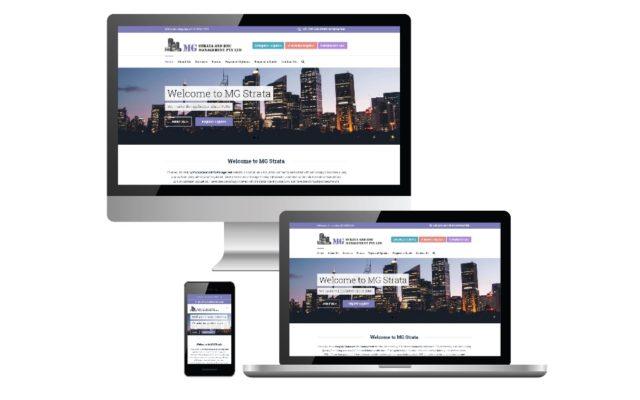 MG Strata - Website design and Development by Freelance Web Developer WebKingdom